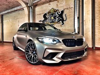 BMW M2 Competition - Satin Silver carwrap