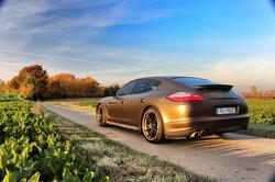Porsche Panamera S carwrap