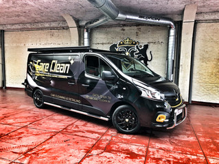 Care Clean Renault Master - Opvallende reclame wrap