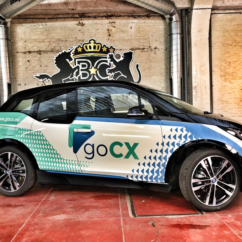 BMW i3 GoCX Transparant Side wrap
