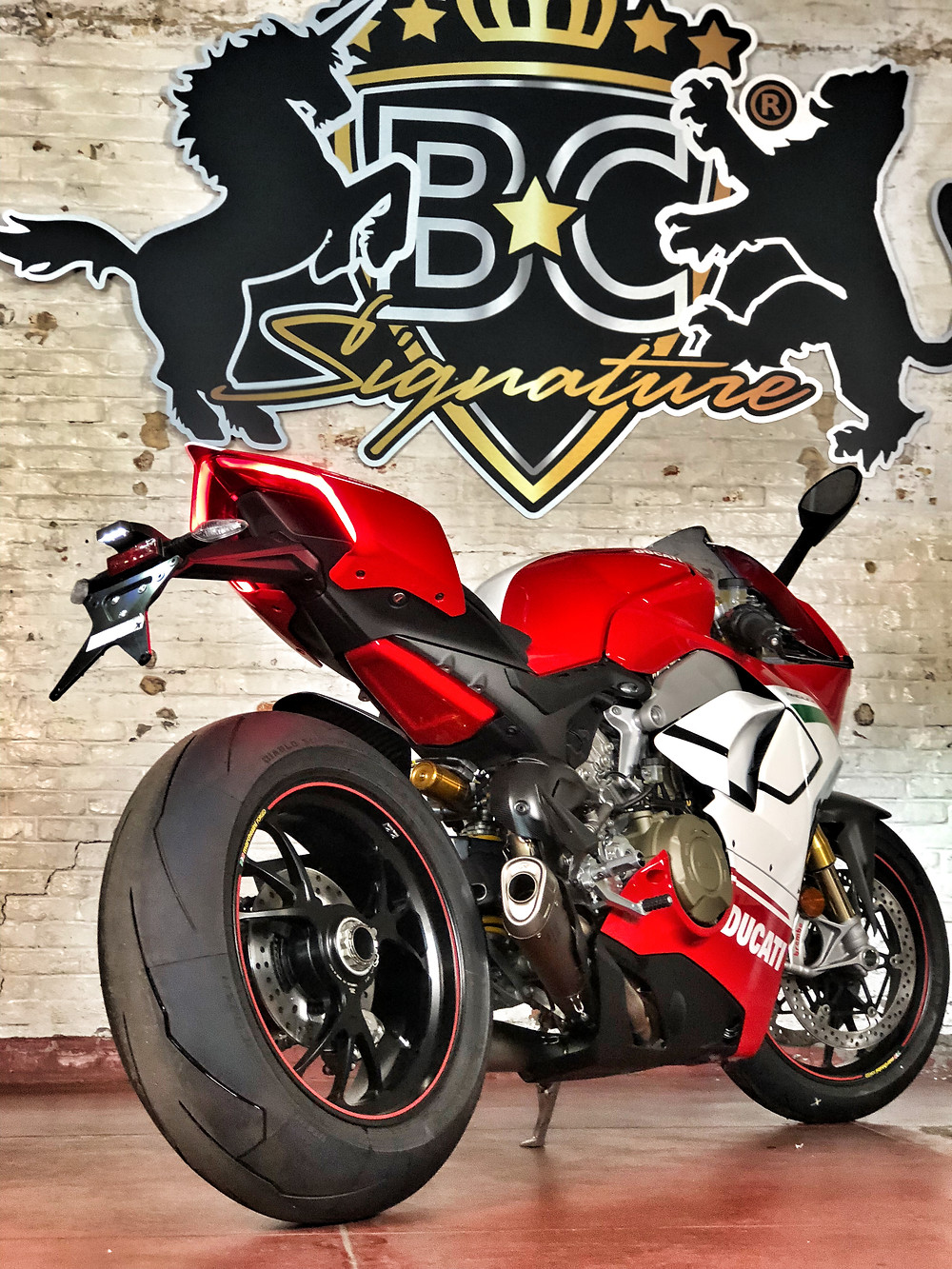 Ducati Panigale V4 Speciale Xpel protection wrap