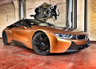 BMW i8 Roadster First Edition - Xpel wrap