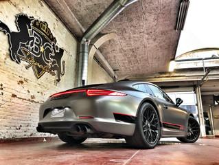 Porsche 991 GTS - Silky Charcoal Wrap