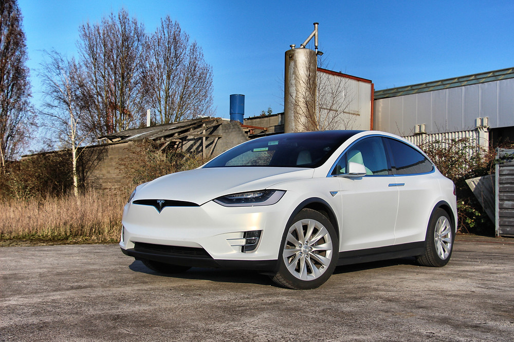 Tesla Model X Frozen Vanilla 3M
