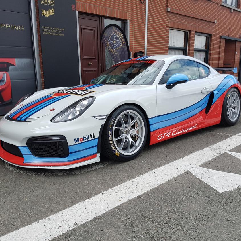 Porsche Martini Wrap