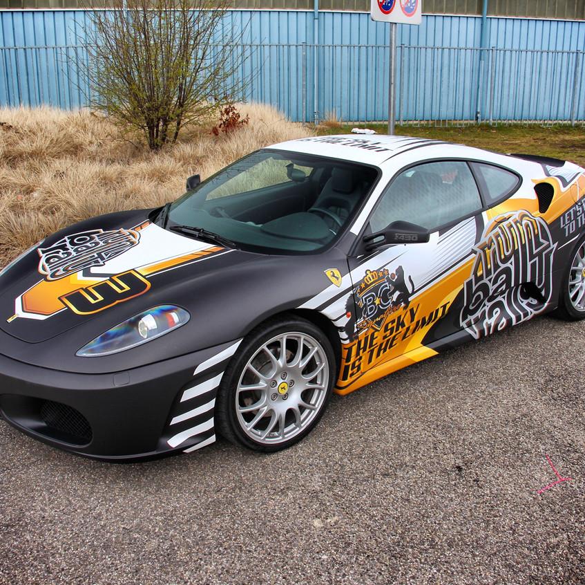 Runball Ferrari Carwrap