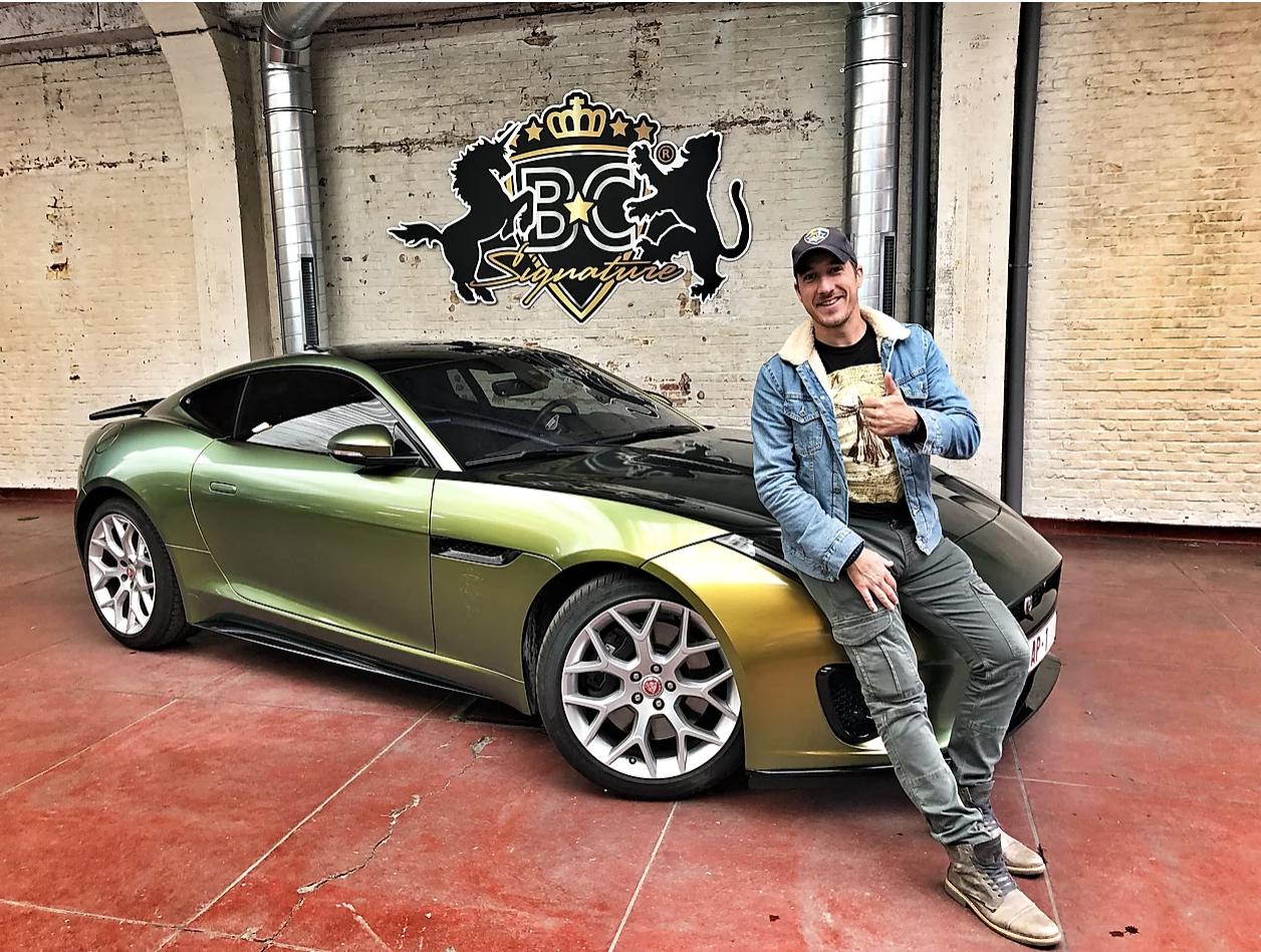 Andy Peelman Jaguar F-type carwrap