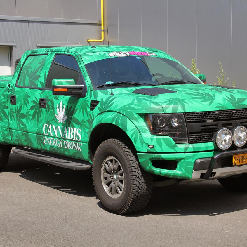 Ford Raptor Cannabis wrap