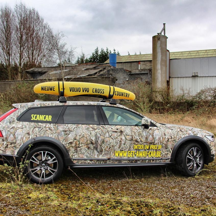 Volvo V90 Cross Country Camo Wrap