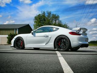 Porsche Cayman GT4 Xpel