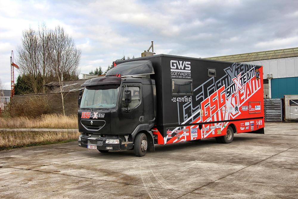 GSG SMXTeam Truck wrap