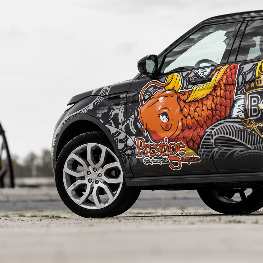 Range Rover Evoque Prestige Magazine
