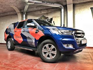 Jef Peeters - Ford Ranger Urban Camo