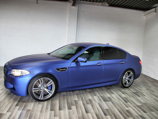 BMW M5 - Blue Thunder