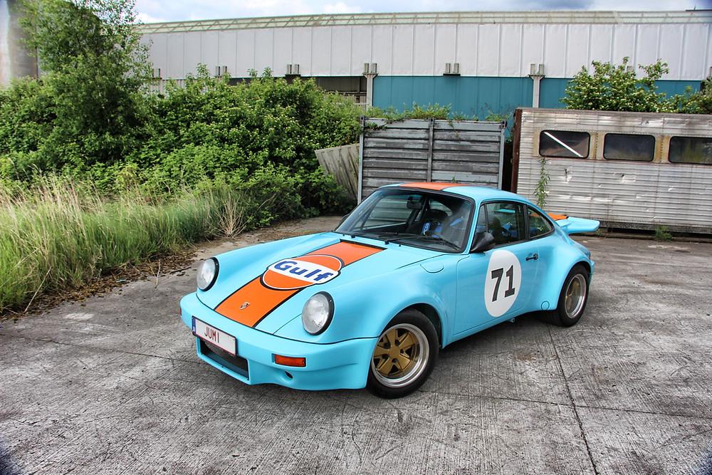 Porsche 911 Gulf Livery