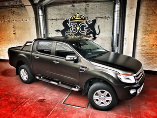 Ford Ranger - Satin Gold Dust carwrap
