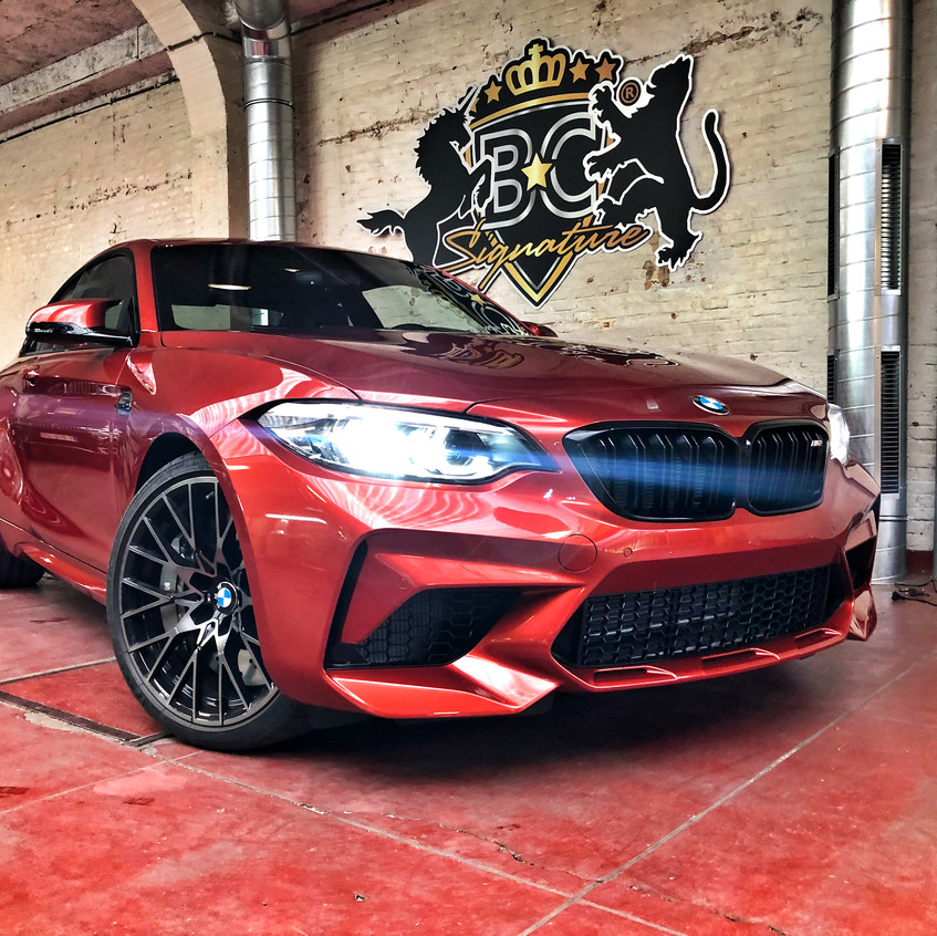 BMWM2CompetitionXpelprotectionwrap