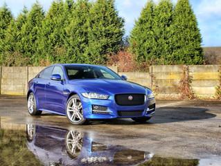 Jaguar XE - Gloss Steel Blue Carwrap