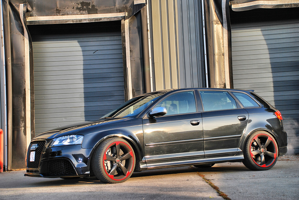 Audi RS3 Paint protection lakbescherming carwrap