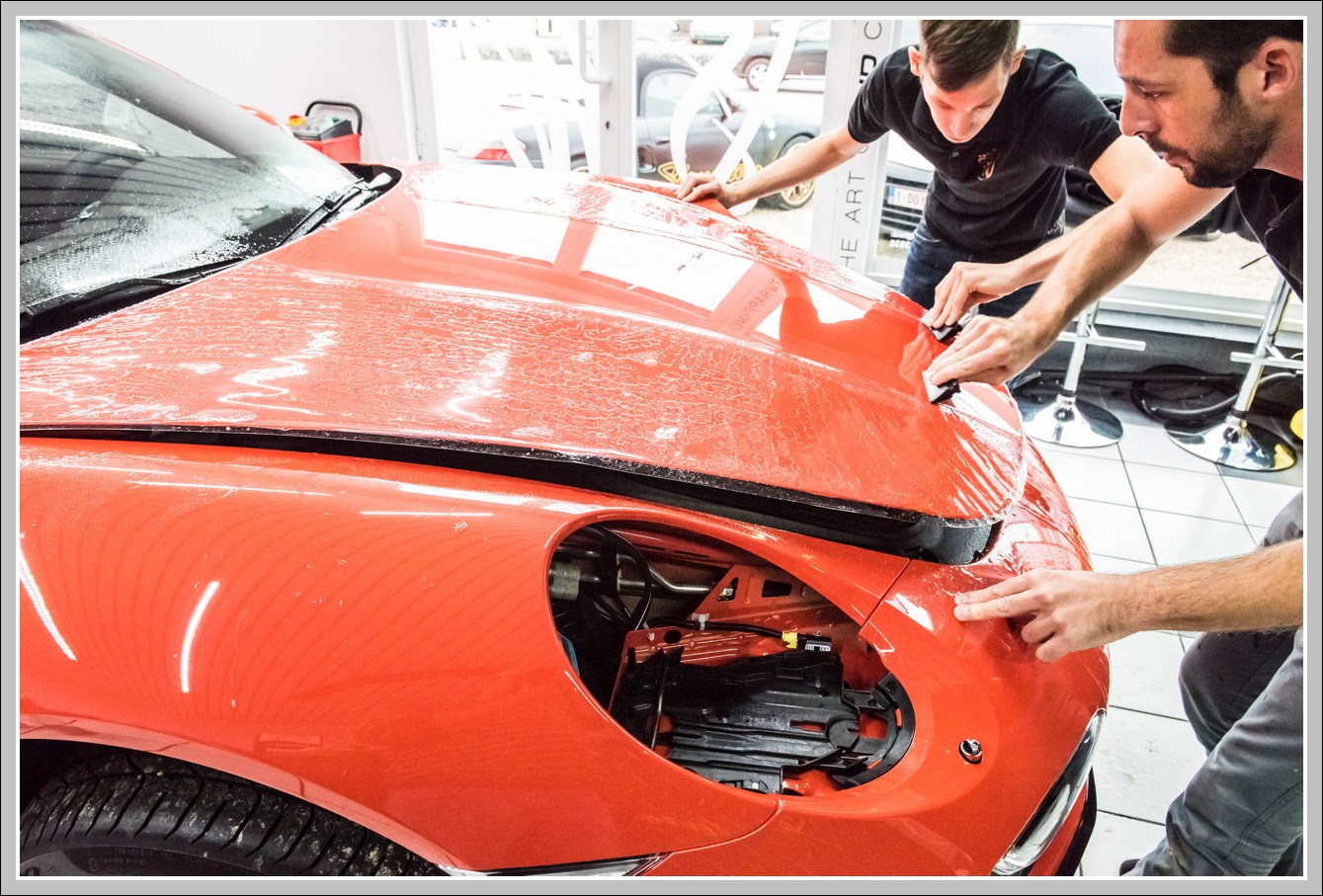 Porsche 991 Turbo Xpel paintprotect