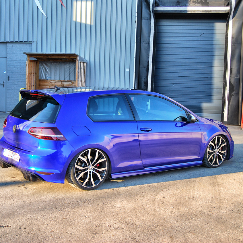 Golf 7R Raspberry Blue wrap