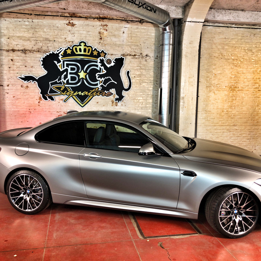 BMW M2 Competition wrap