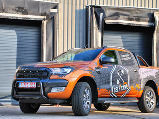 Ford Ranger - Self Care Reclame wrap