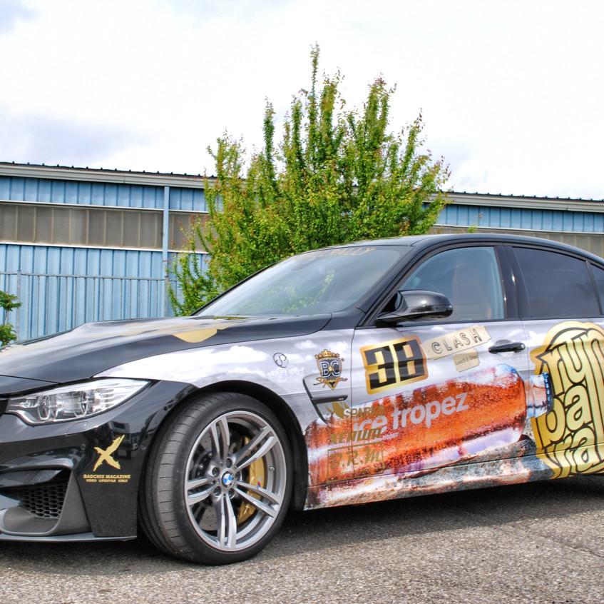 Runball Rally Carwrap BMW 3