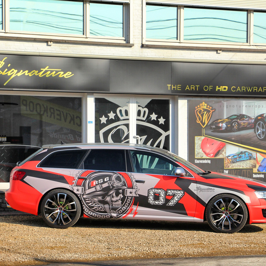 Audi RS6 Runball wrap