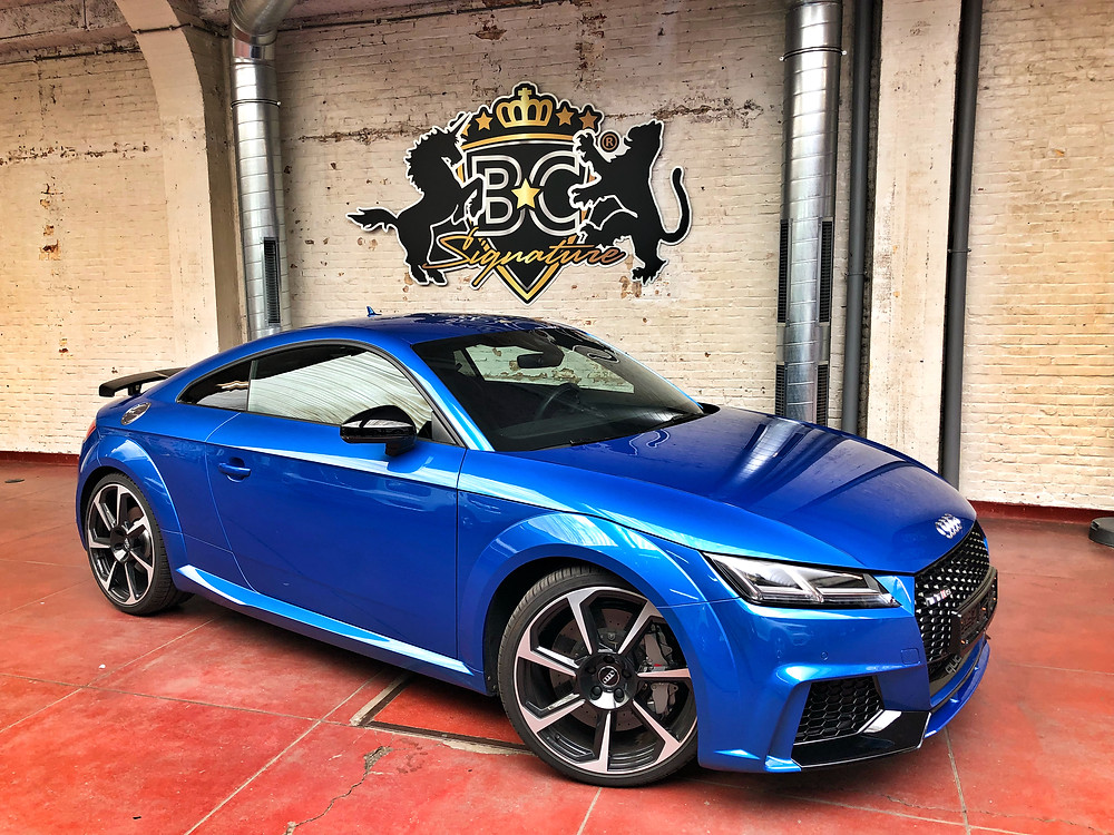 Audi TT RS Xpel Protection Wrap