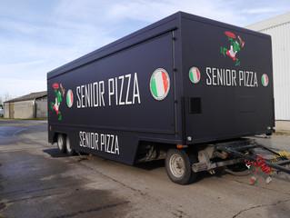 Senior Pizza - Marktwagen Wrap