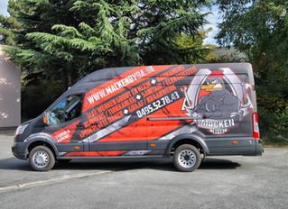 Macken - Ford Transit Carwrap