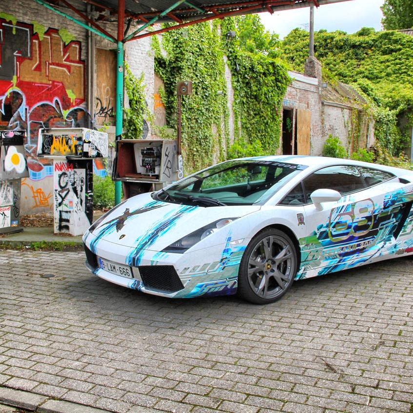 Lamborghini Gallardo Streetgasm wrap