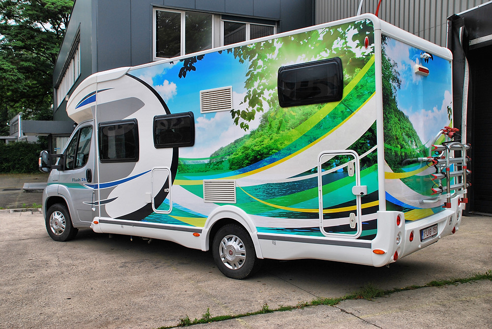 Motorhome Wrap Nature