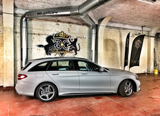 Mercedes C-Klasse Satin Grey