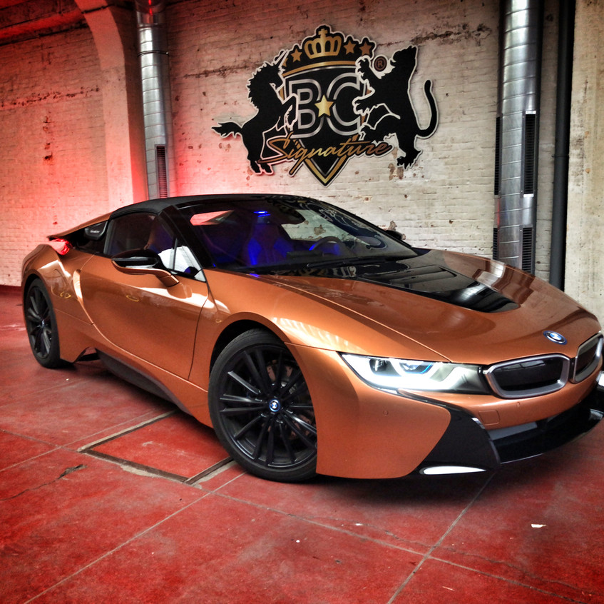 BMW i8 Roadster Xpel
