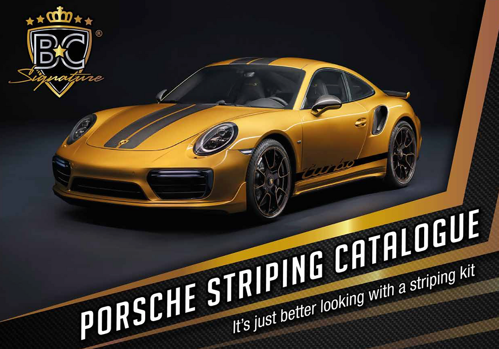 Porsche Striping Catalog
