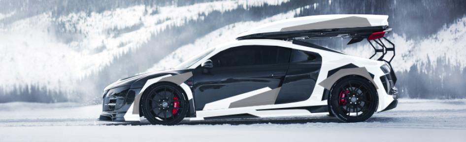 Jon Olsson Audi R8 Carwrap