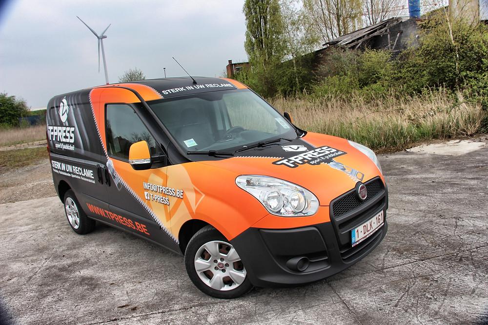 Fiat Doblo T-Press Carwrap