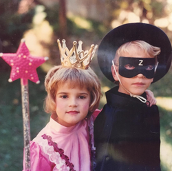 My brother and me, halloween