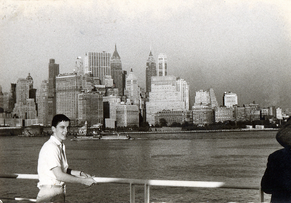 My father in New York City, 1960.