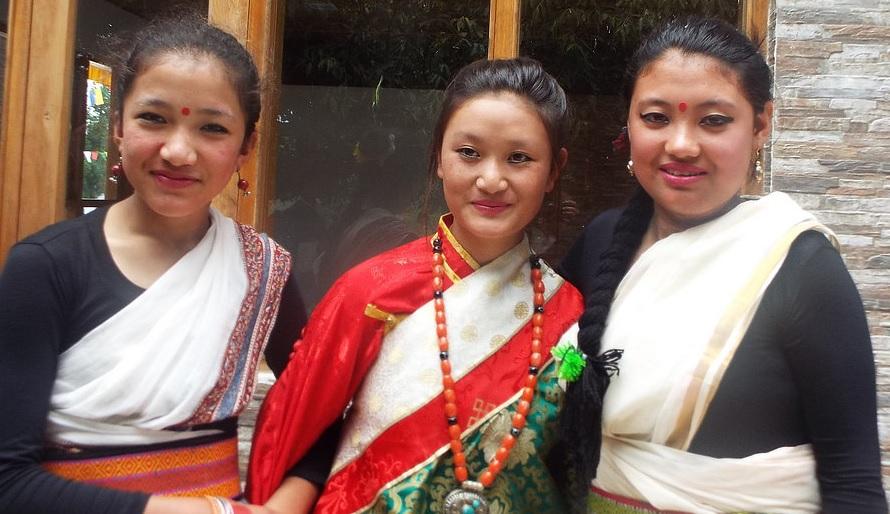 Les trois filles