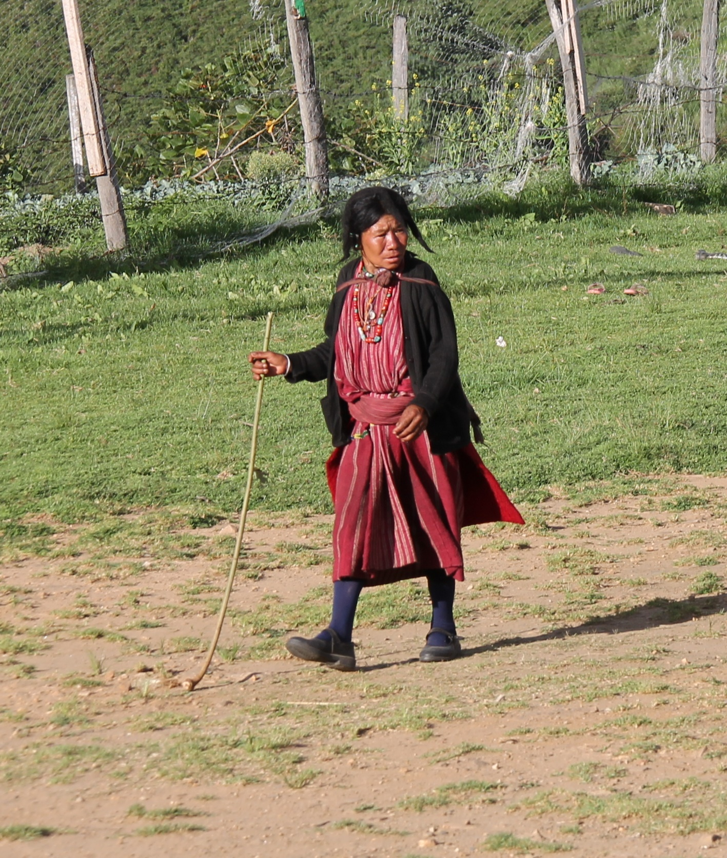 Habit traditionnel des Monpa