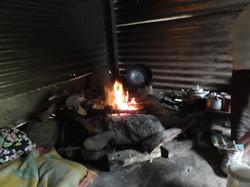 Pas de chauffage ni d'électricité