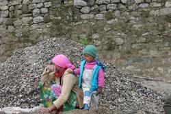 Une casseuse de pierres