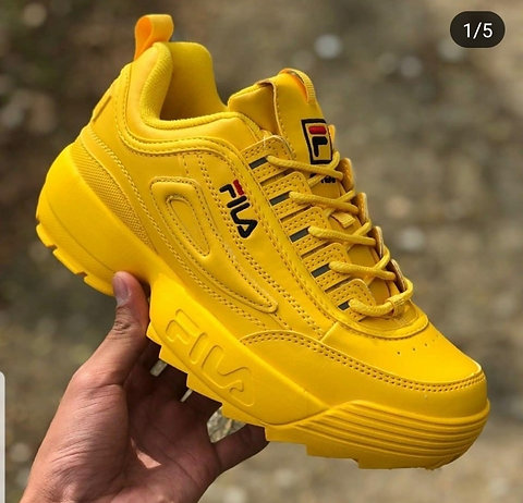 yellow fila shoes buy clothes shoes online