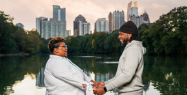 Casual Anniversary Session in Piedmont Park | Atlanta Photography |  Jadarius + Shan