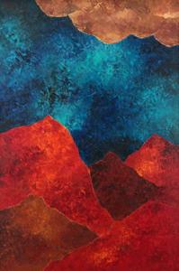 Akbar Padamsee - Landscape