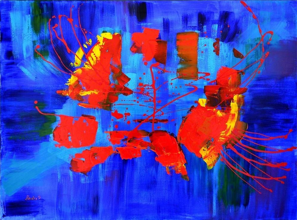 Brinda Pamulapati - Red in the Sea