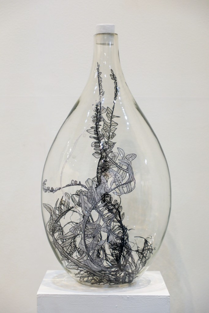 Sumakshi Singh - Glass Vitrine Bubble